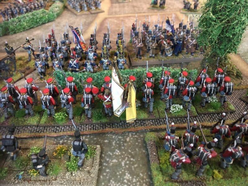 Hannoverian Landwehr hold the line!