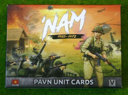 NAM PAVN FORCES IN VIETNAM UNIT CARDS  15mm VPA901