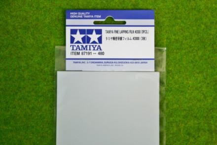 Tamiya FINE LAPPING FILM #2000 SET 3 Sheets 87191
