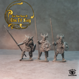 Lucid Eye Red Book of the Elf King COMPANIONS pack 3 28mm COMP3