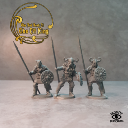 Lucid Eye Red Book of the Elf King COMPANIONS pack 4 28mm COMP4