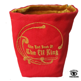 Lucid Eye Red Bag of the Elf King – Gold Lining