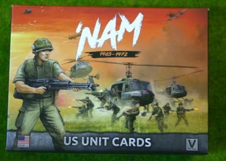 NAM US FORCES IN VIETNAM UNIT CARDS  15mm VUS901