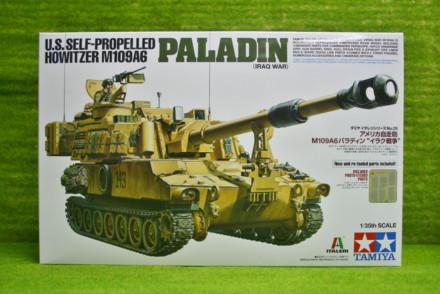 Tamiya U.S. Self Propelled Howitzer M109A6 PALADIN 1/35 Scale Kit 37026