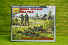 Zvezda GERMAN ANTI TANK RIFLE TEAM 1/72 6216