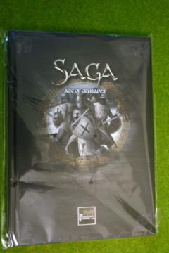 Saga AGE OF CRUSADES Rules Supplement and Battleboards Studio Tomahawk
