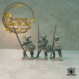Lucid Eye Red Book of the Elf King COMPANIONS 28mm COMP6