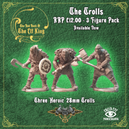 Lucid Eye Red Book of the Elf King TROLL 1 28mm TROLL1