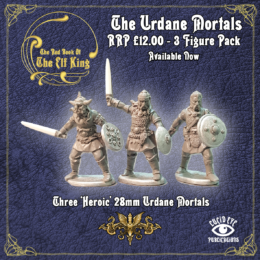 Lucid Eye Red Book of the Elf King MORTALS 1 28mm
