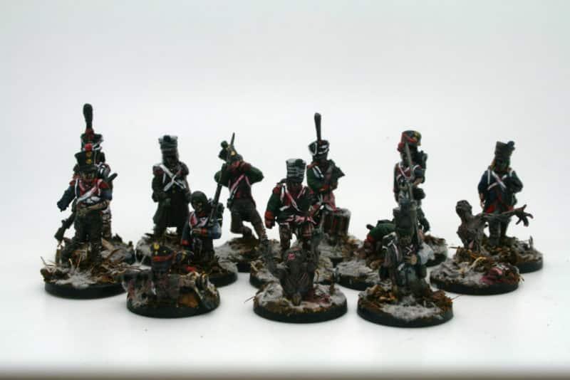 Zombie horde!