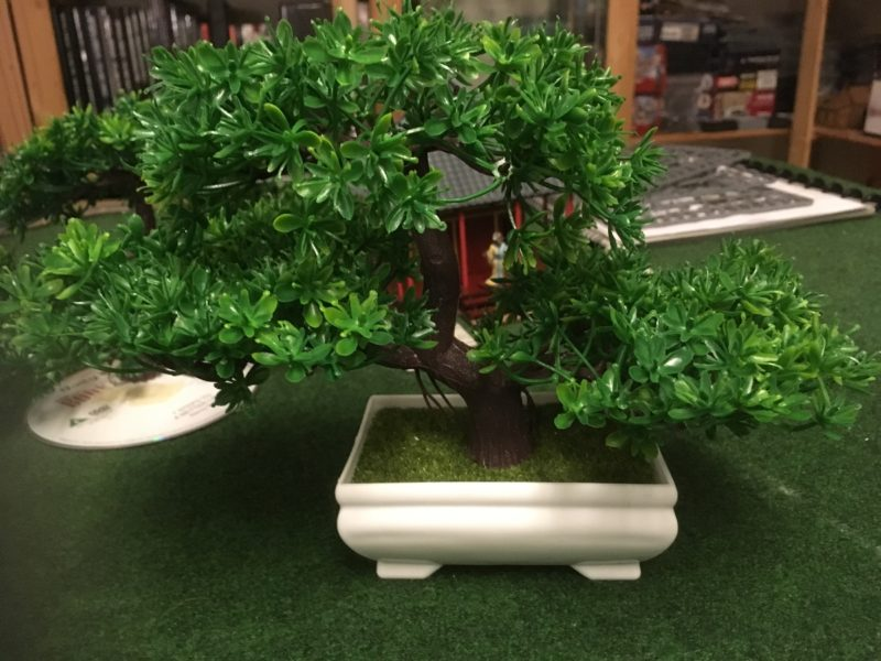 Plastic Bonsai tree