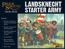 Landsknecht Starter Army Warlord Games Pike & Shotte 28mm SD