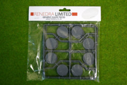 RENEDRA COBBLESTONE EFFECT 30mm Dia. ROUND BASES Pack