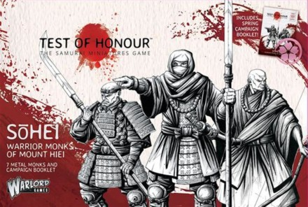 Test of Honour Sohei – Warrior Monks of Mount Hiei Warlord Games 28mm SD
