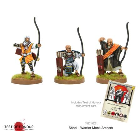 Test of Honour Sōhei – Sōhei – Warrior Monk Archers 28mm SD