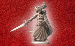 Lucid Eye Red Book of the Elf King ALLOYSIAN OF VASTERLANT ALLOY 28mm