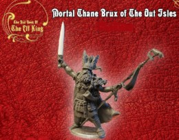 Lucid Eye Red Book of the Elf King BRUX OF THE OUT ISLES Chief 28mm