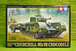 Tamiya BRITISH CHURCHILL MK VII CROCODILE 1/48 Scale 32594