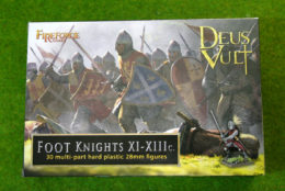 FireForge Games FOOT KNIGHTS XI – XIIIC 28mm Plastic set FFG015