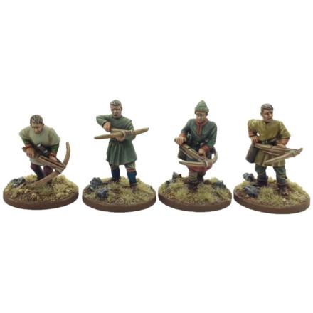 Norman Crossbowmen #1 Footsore Miniatures SAGA NOR100