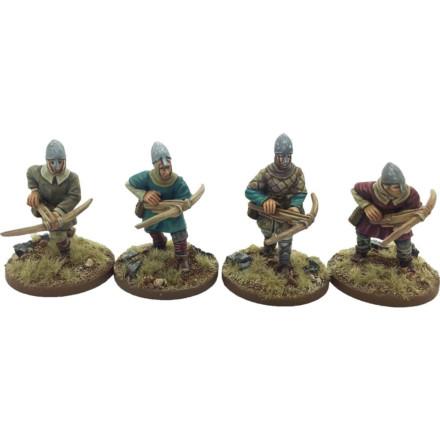 Norman Crossbowmen #2 (Helmets) Footsore Miniatures SAGA NOR101