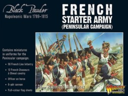 FRENCH NAPOLEONIC STARTER ARMY (PENINSULAR) Warlord Games Black Powder