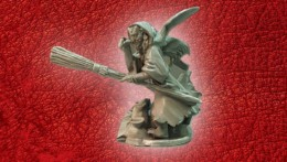 Lucid Eye Red Book of the Elf King SKEGGNI THE PEL WITCH 28mm