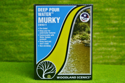 Deep Pour Water™ MURKY Woodland Scenics CW4511