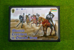 MOUNTED CRUSADERS IN ORIENTAL DRESS 1/72 Strelets miniset 104