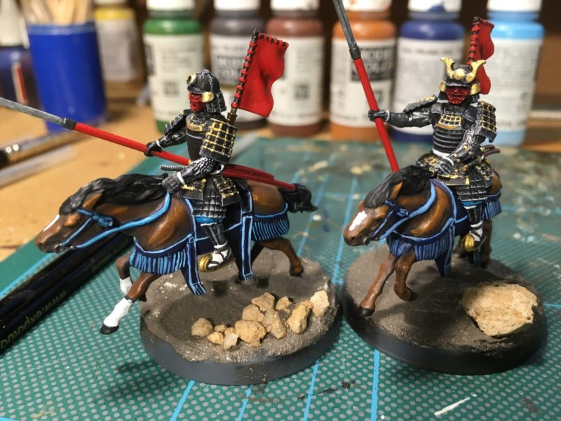The first of Daimyo's retinue