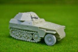 1/56 scale – 28mm WW2 GERMAN 250/9 NEU HALFTRACK  Blitzkrieg miniatures