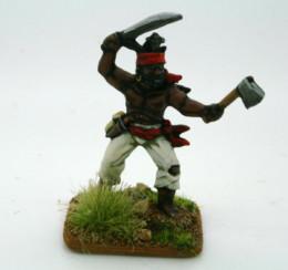 Trent Miniatures BOUKMAN Slave Revolt Leader CAR25 28mm