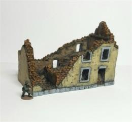 European Ruin #1 -Battle Scale Wargames Buildings 10mm – 15mm scale 10B019