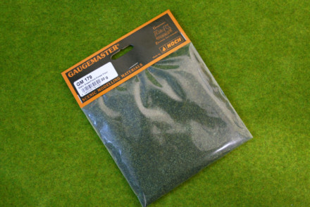 Gaugemaster FOREST FLOOR FLOCK or STATIC GRASS /Hairy Grass 30gms bag GM179