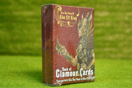 The Red Book Of The Elf King CARDS Lucid Eye Publications