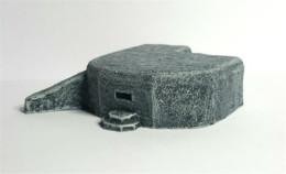 Machine-gun Bunker -Battle Scale Wargames Buildings 10mm – 15mm scale 10EW003