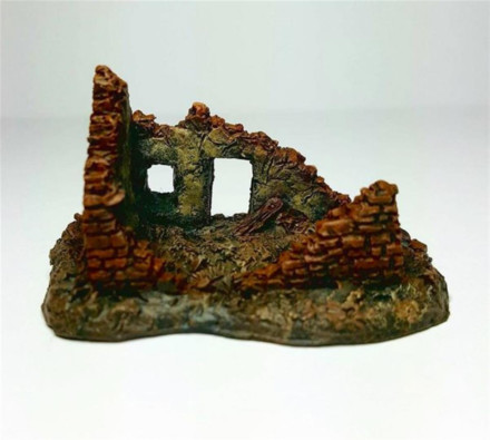 Small Ruin pack of 2 -Battle Scale Wargames Buildings 10mm – 15mm scale 10B007
