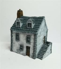 European Townhouse #1 -Battle Scale Wargames Buildings 10mm – 15mm scale 10B011