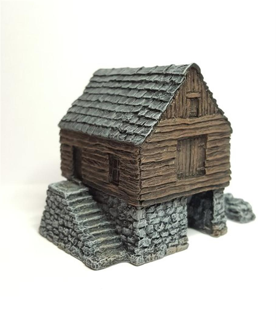 STABLE BLOCK Battle Scale Buildings 10mm 15mm scale
