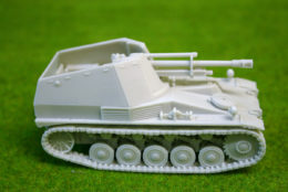 1/48 scale – 28mm WESPE WW2 GERMAN SPG resin tank Blitzkrieg Miniatures