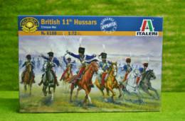 British 11TH Hussars 1/72 Italeri 6188 set