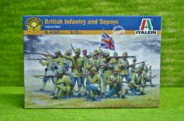 British Infantry and Sepoys 1/72 Italeri set 6187