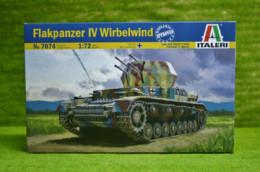 Flakpanzer IV Wirbelwind 1/72 Scale Italeri Kit 7074