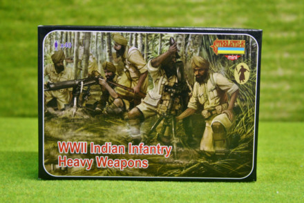 Strelets WW2 INDIAN INFANTRY HEAVY WEAPONS 1/72 miniset M129
