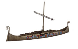 Dark Age LONGSHIP MDF 28mm scale  J023