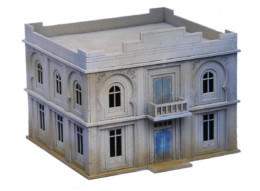 North African/Colonial Administration Building/Hotel Building 20mm Laser cut MDF kit N295