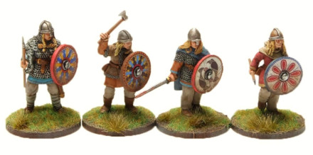 Viking Shield Maidens 03VIK113 Footsore Miniatures SAGA