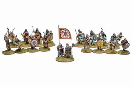 Viking Skirmish Warband 30VIK900 Footsore Miniatures SAGA