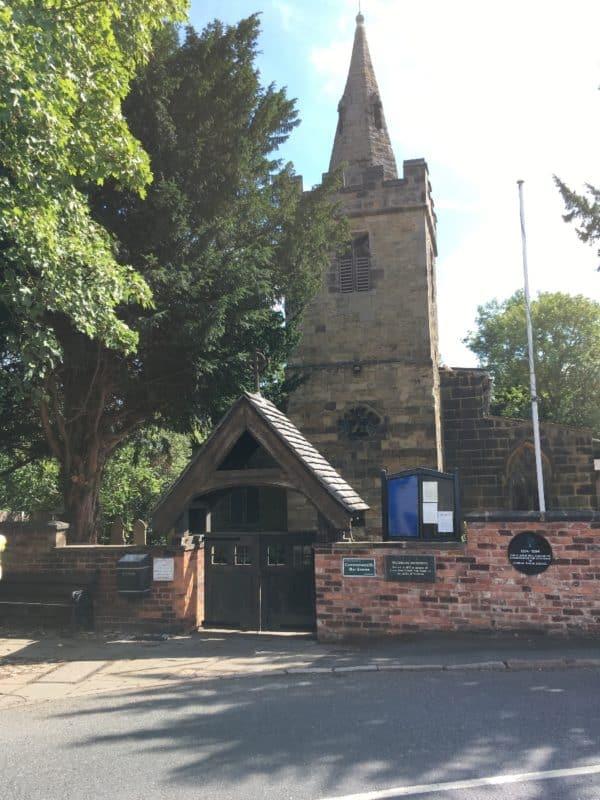 Cossall Church
