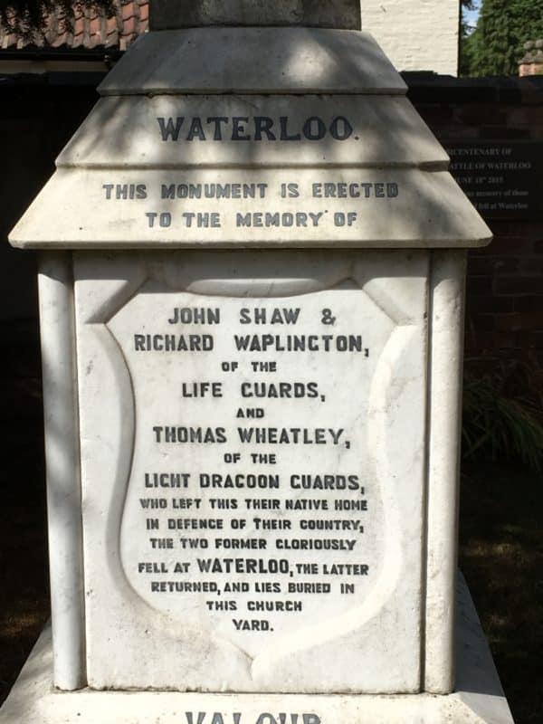 Memorial inscription